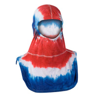 Tie-Dye Red White & Blue Hood, PAC II