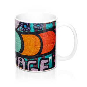 Courage insipring Fyred up Mug 11oz - Fyred up productions, the law of attraction, energy, love, birthday, gift