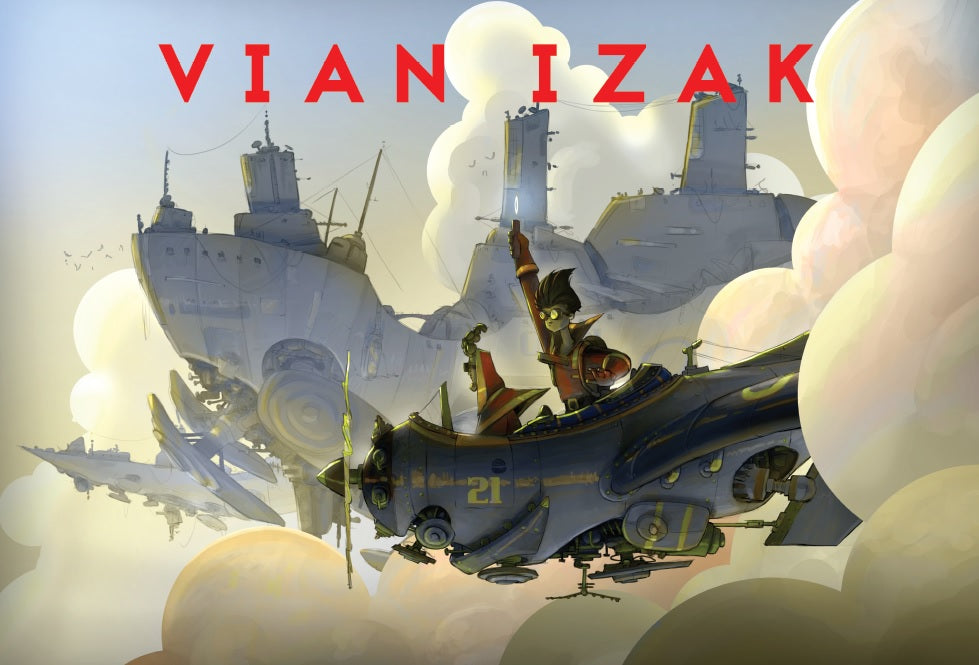 Vian Izak - The London Air Raids
