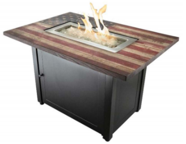 The Americana by Endless Summer 40,000 BTU LP Gas Fire Table