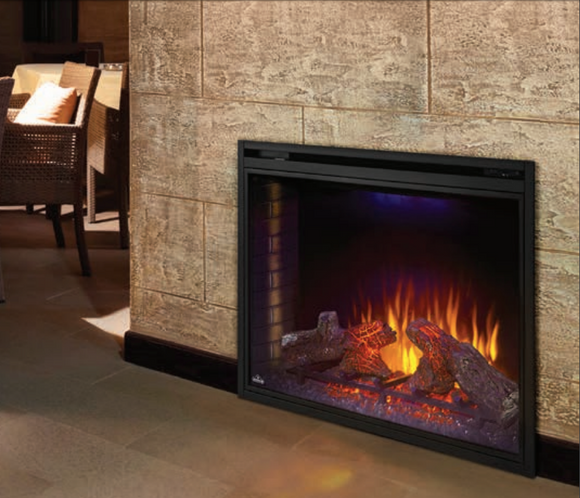 Warming LED Electric Fireplace Insert