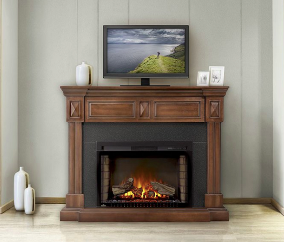 $74/month Napoleon Braxton Electric Fireplace Mantel