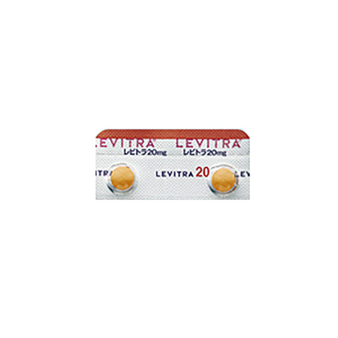 LEVITRA Tablets 20 mg [Brand Name] : 1 sheet (2 tablets)