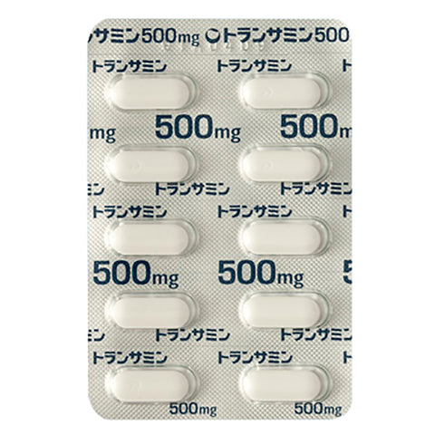 TRANSAMIN Tablets 500mg [Brand Name]