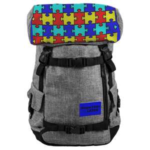 DownTime by LATRA Autism Awareness 25L Penryn Backpack