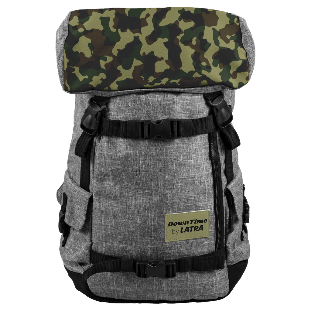 DownTime by LATRA 25L Penryn Green Camo Backpack