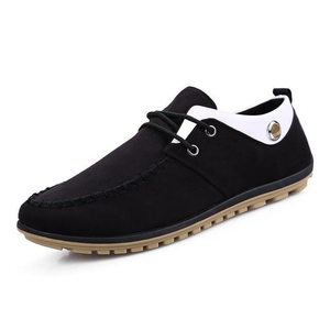 Mens Leisure Breathable Anti Ski Lace up Shoes
