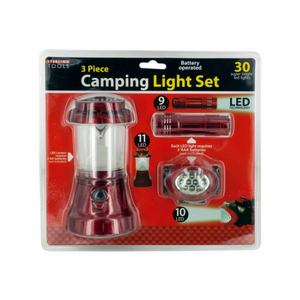 Camping Light Set - 3 Units Value Pack