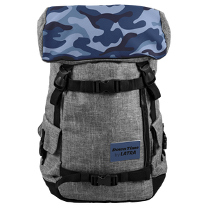 DownTime by LATRA 25L Penryn Blue Camo Backpack