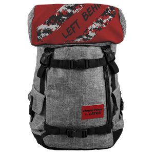 DownTime by LATRA No Items Left Behind 25L Penryn Red Camo Backpack