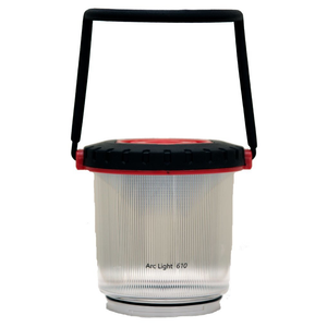 Camping Mons Peak IX Arc Light 610 Rechargeable LED Lantern with Power Bank