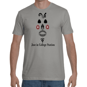 Men's Jose in College Station T-Shirt - Black Print