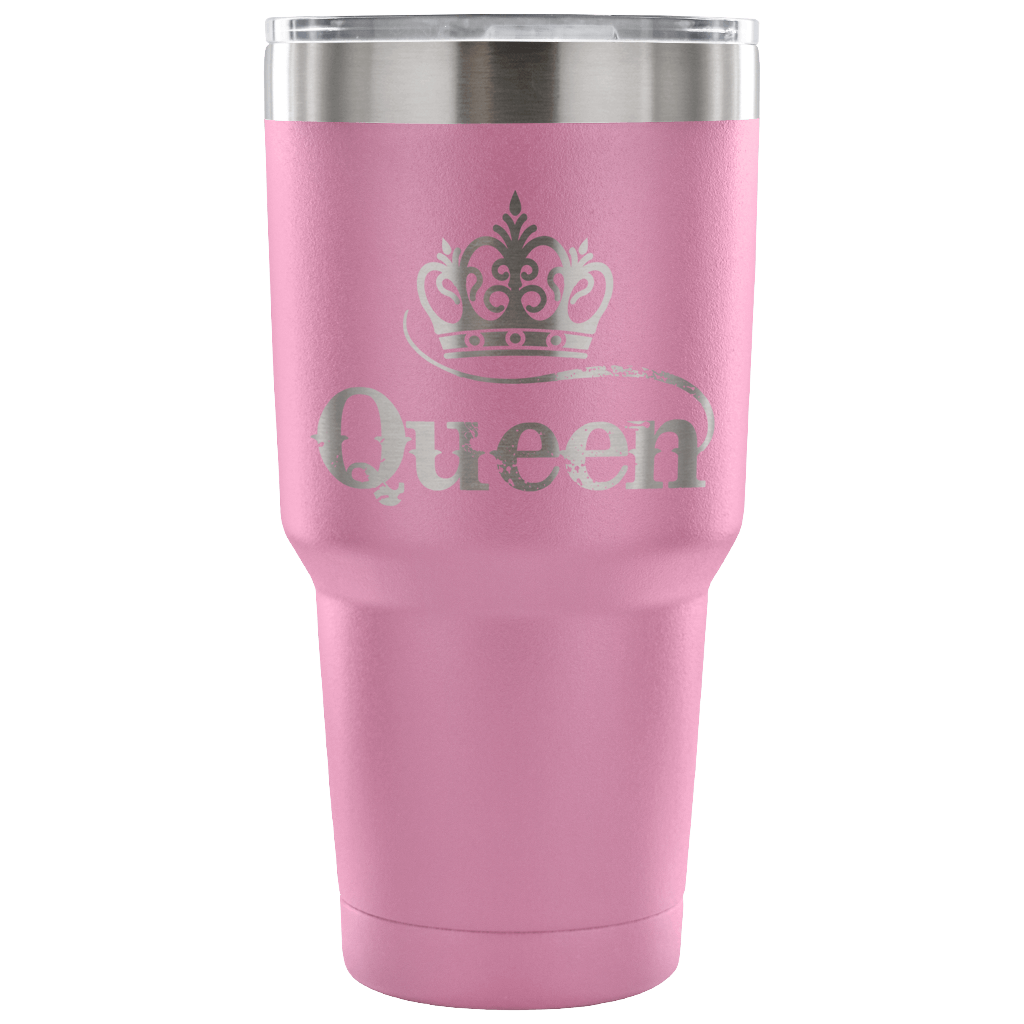 Queen 30 Ounce Vacuum Tumbler
