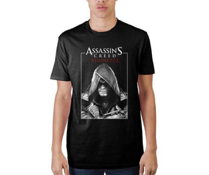 Assassins Creed Syndicate Poster Black T-Shirt - T-Shirt