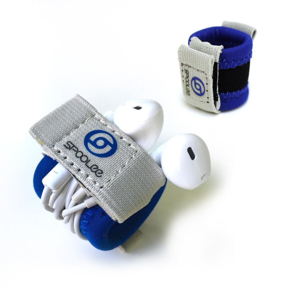 Blue Headphones Organizer - Product