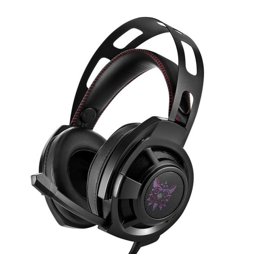 LATRA Noise Canceling Gaming Stereo Wired Headphones with LED Lights