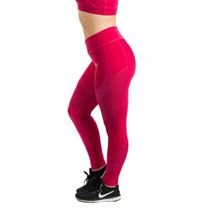 Elegance Mesh Leggings - Red / Xs - Product
