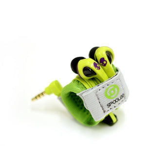 Green Headphones Organizer - Product