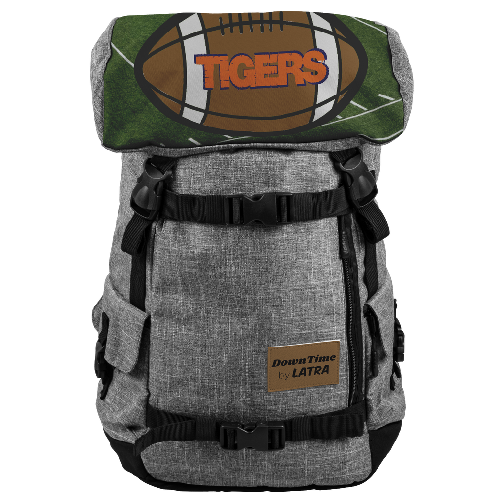 DownTime by LATRA Tigers Football 25L Penryn Backpack