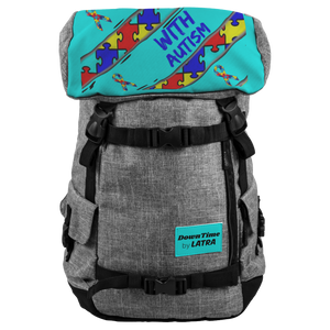 DownTime by LATRA I Love Someone With Autism 25L Penryn Backpack
