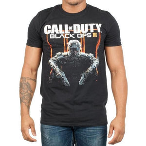 Mens Call Of Duty Black Ops 3 Character T-Shirt - S / - Gaming T-Shirt