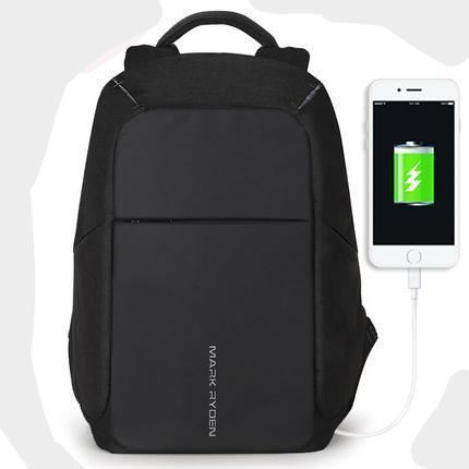 Multifunction Usb Charging Laptop Backpack - Black / United States / 15Inches - Product