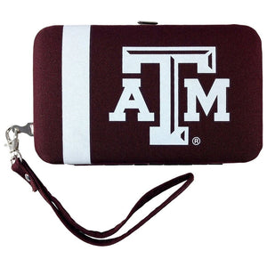 Ncaa Distressed Shell Wristlet: Multiple Teams Available - Texas A&m - Novelties