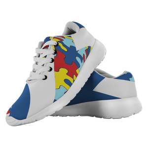 Forward Momentum by LATRA Running Shoes for Autism Awareness in Blue