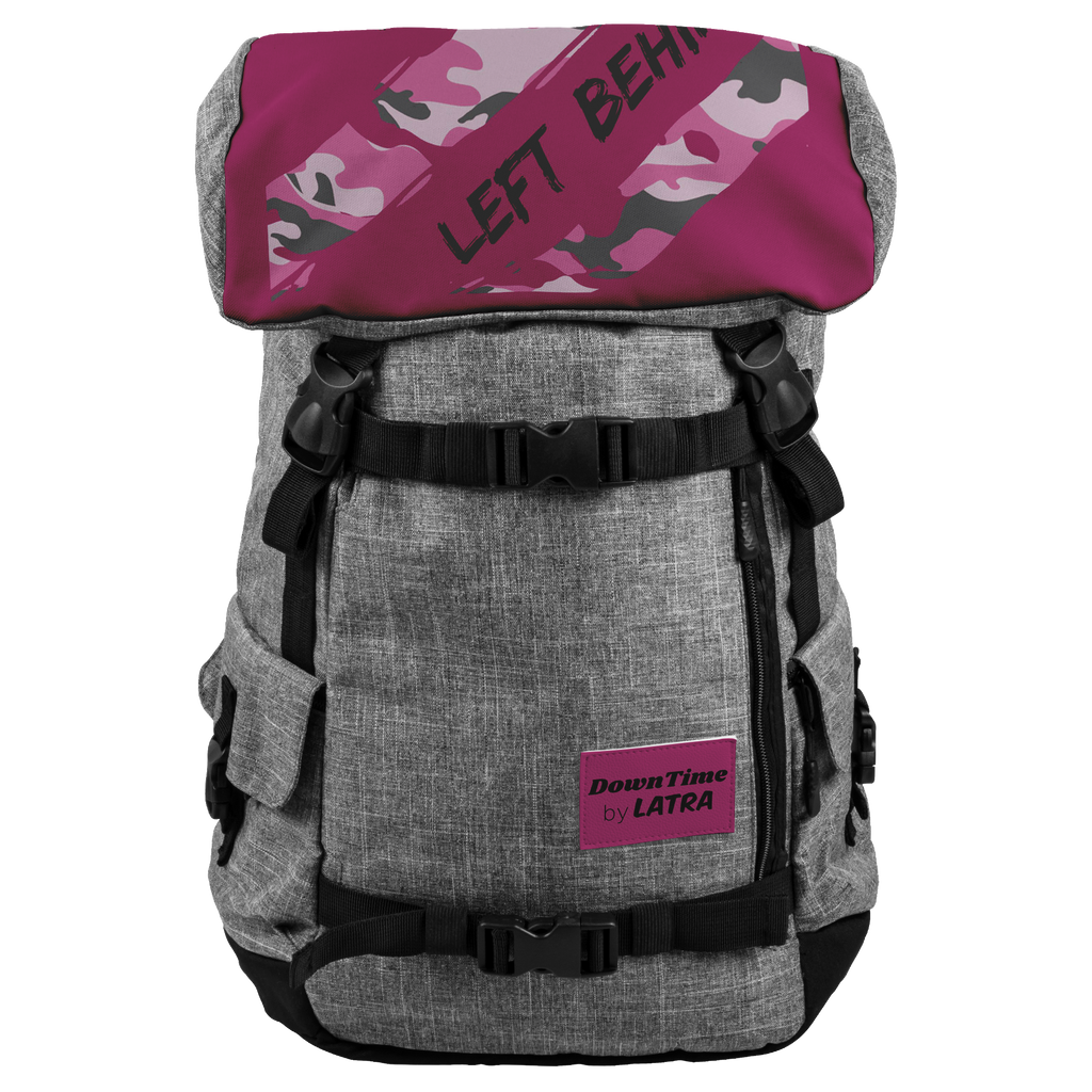 DownTime by LATRA No Items Left Behind 25L Penryn Pink Camo Backpack