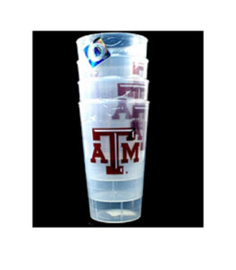 Texas A&m Tumblers - 4Pack 16Oz Tumbler Set - Novelties