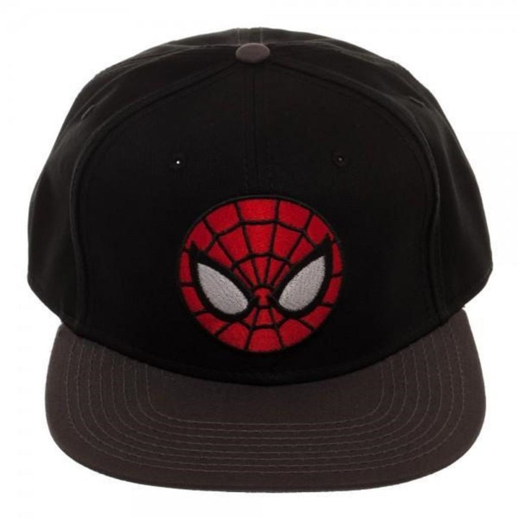 Ultimate Spiderman Black Snapback - Marvel Caps