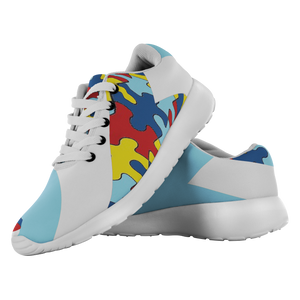 Forward Momentum by LATRA Running Shoes for Autism Awareness in Lt. Blue
