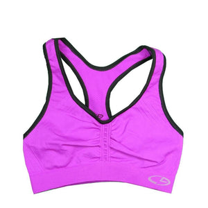 Womens C9 By Champion Girls Sports Bra - Purple/black / Small