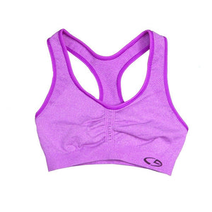 Womens C9 By Champion Girls Sports Bra - Raspberry Shock Heather / Medium