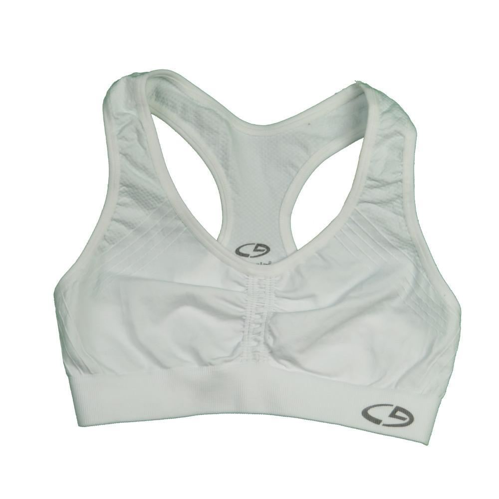 Womens C9 By Champion Girls Sports Bra - White / Small