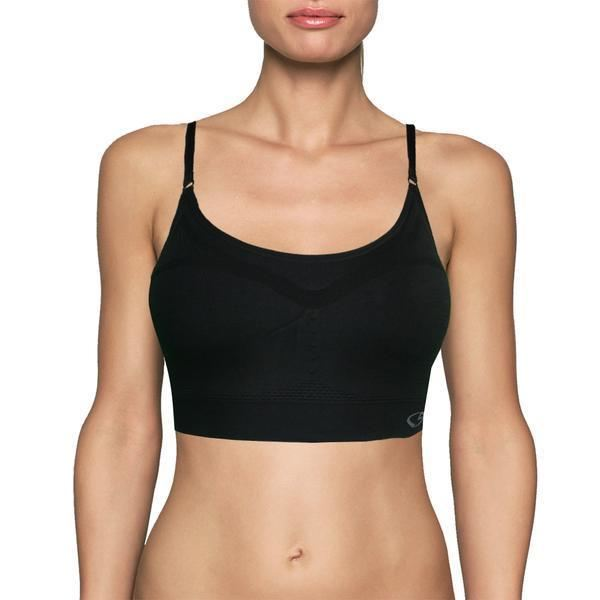Womens C9 By Champion Support Sports Bra - Black / Small