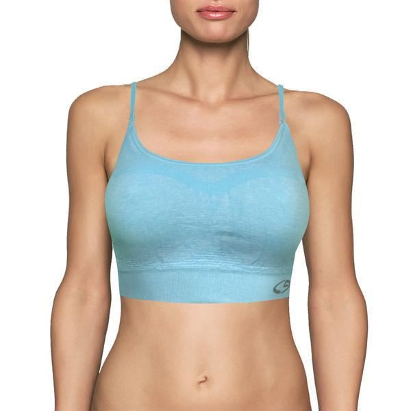 Womens C9 By Champion Support Sports Bra - Blue / X-Small