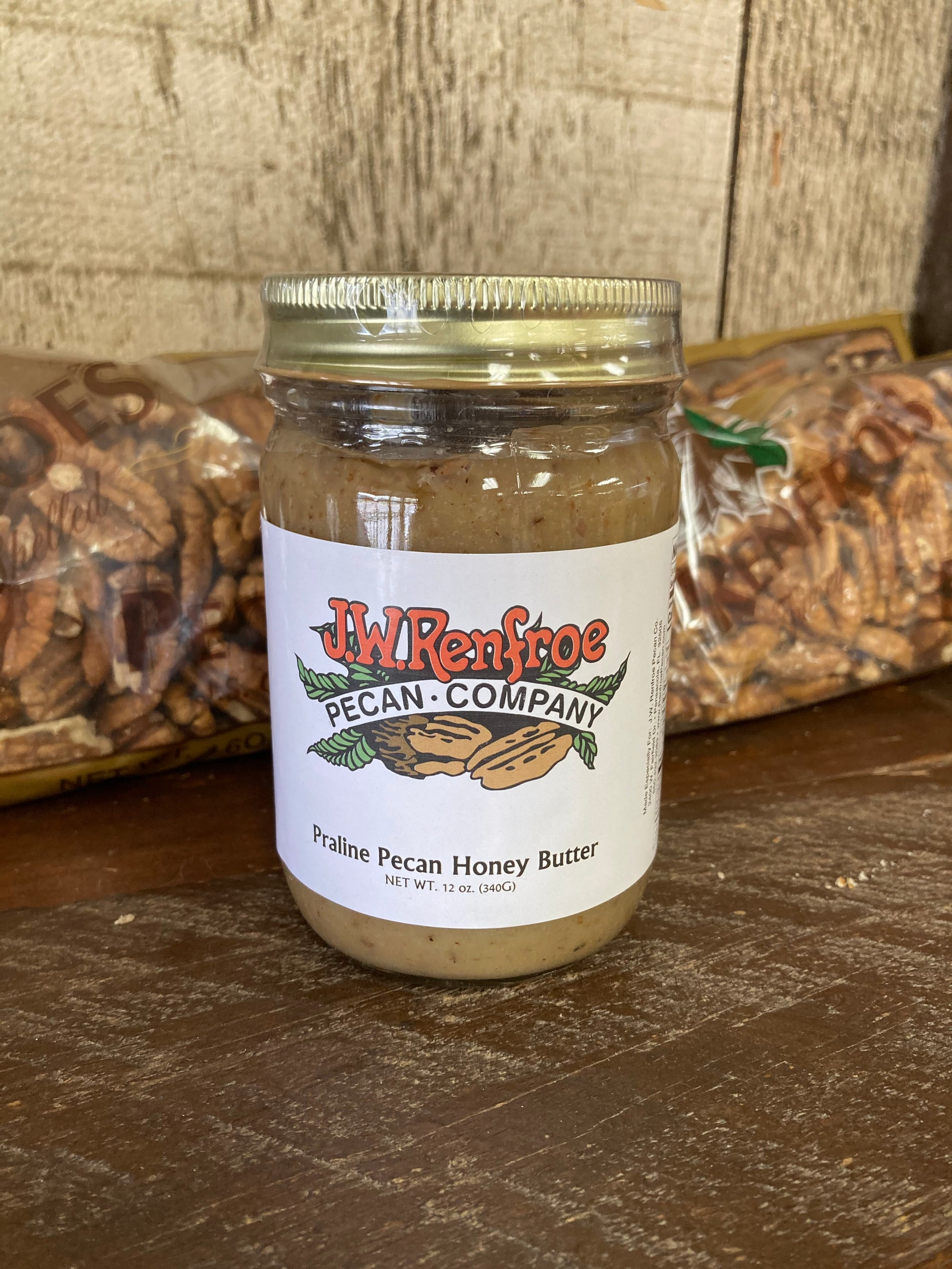 Pecan Praline Honey Butter12oz - 702084116126