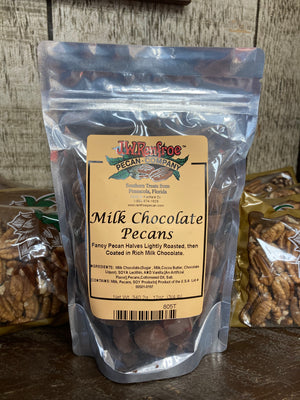 Milk Chocolate Pecans 12 oz - 805T