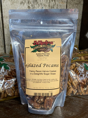 Glazed Pecans 12 oz - 812T - 812T