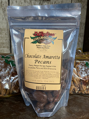 Chocolate Amaretto Pecans 12 oz - 819T