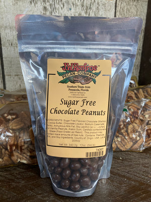 Sugar Free Milk Chocolate Peanuts 12oz - 7406T