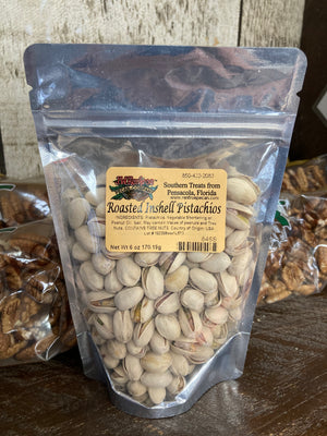 Roasted & Salted Inshell Pistachios 6 oz. - 846S