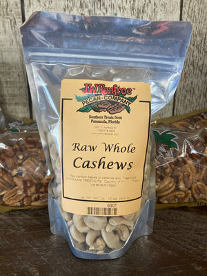 Whole Raw Cashews 12 oz - 830T - 830T