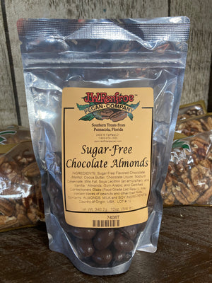 Sugar Free Milk Chocolate Almonds 12 OZ - 7408T