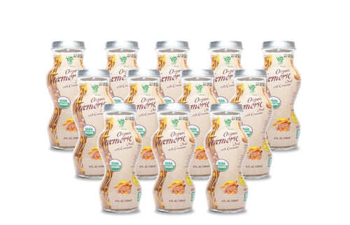 HEALTHEE Organic Turmeric With Cinnamon - 12 bottles x 180 ml (6 oz.)