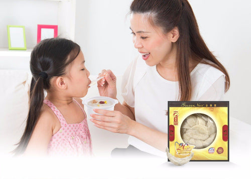 White Bird's Nest AA - 113 Grams (4 Oz.) Edible Bird's Nest GOLDEN NEST