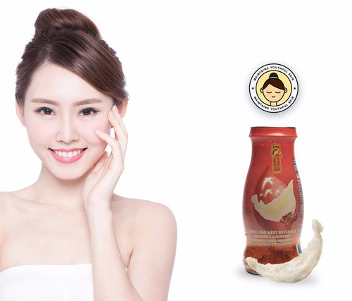 Bird's Nest Drink - Red Dates & Goji Berries - 12 bottles x 240ml (8 oz.) Bird's Nest Soups & Drinks GOLDEN NEST