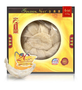 White Bird's Nest AAA - 113 Grams (4 Oz.) Edible Bird's Nest GOLDEN NEST