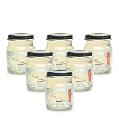 Premium Bird's Nest Soup - Sugar Free - 6 bottles x 75ml (2.5 oz.) Bird's Nest Soups & Drinks GOLDEN NEST